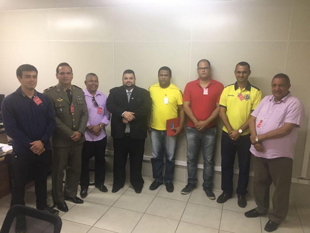 Entidades Militares de Alagoas, UNIDAS, fazem gestão para afastar a aplicabilidade da Lei Delegada 47/2015-AL