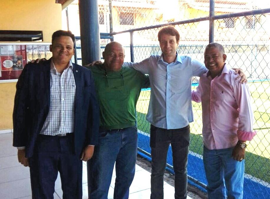 Presidente e Diretores da Assomal recebem visita de cortesia de Daniel Barbosa - filho do Vice-Governador e secretário de Educação do Estado Luciano Barbosa