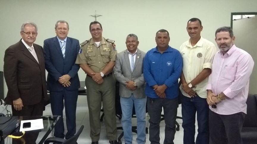 Associações militares cumprem agendas institucionais na PGE