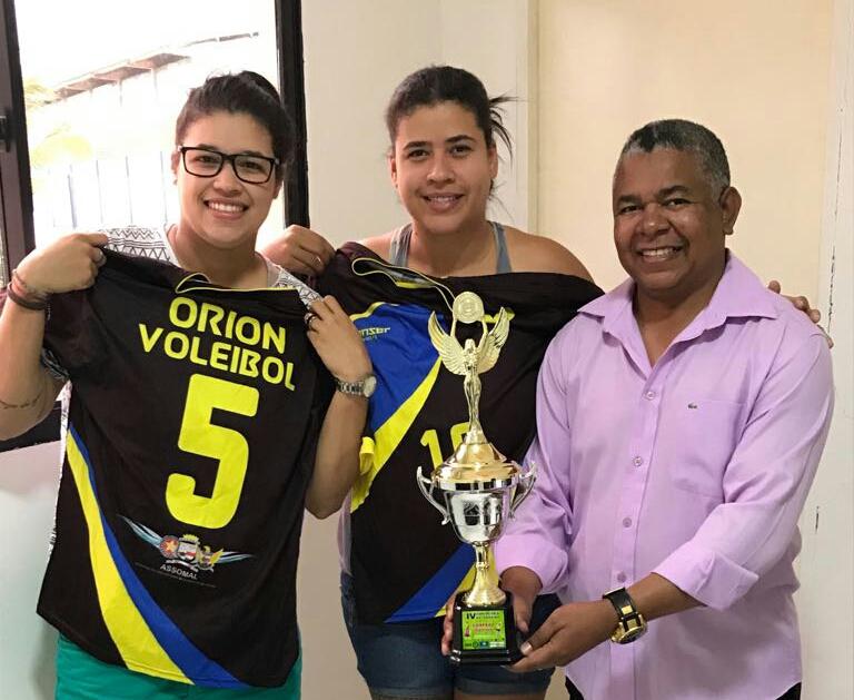 Vôlei Feminino Orion foi Campeão da Copa do Vale Paraíba 2017, o time tem o apoio da Assomal