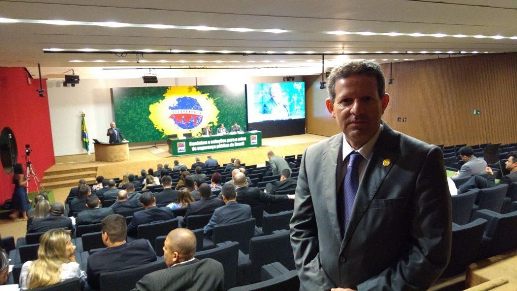 Diretor Secretário da Assomal participa do Curso de Assessor Parlamentar em Brasília
