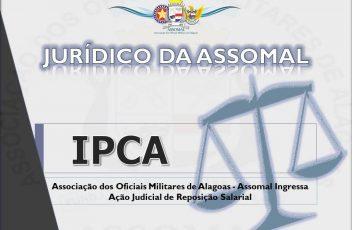 IPCA - AÇÃO NA JUSTIÇA