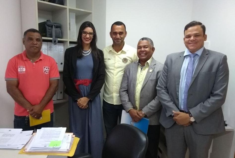 Presidentes de Associações Militares protocolam documento na Corregedoria Geral do Tribunal de Justiça de Alagoas.