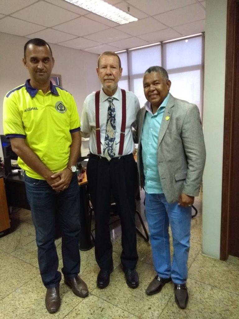 Presidentes de Associaçoes vão à Corregedoria Geral do TJAL tratar da  aplicação da Lei nº 13.491/17