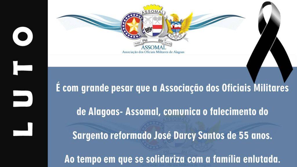 Nota de Pesar - Sargento Reformado José Darcy