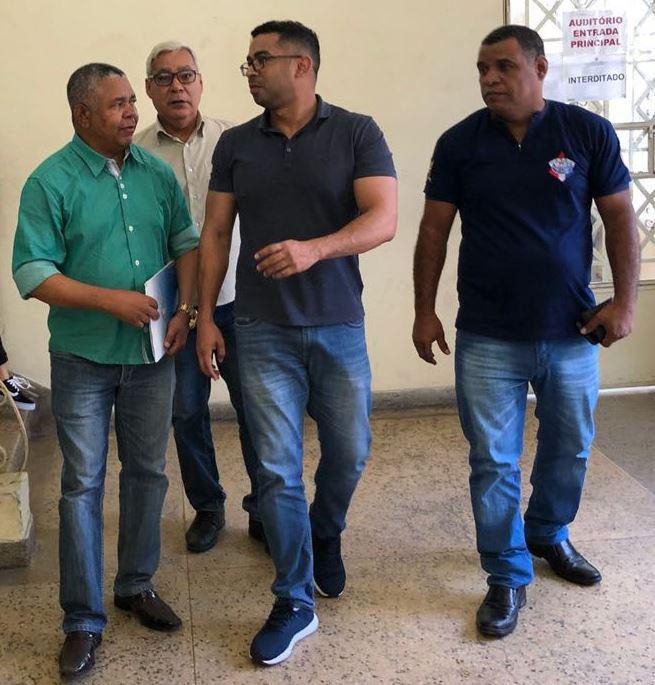 Presidentes das Associações Militares de Alagoas se reuniram, nesta terça-feira (3), com representantes da SSP e da Seplag para cobrar o cumprimento da proposta de negociação dos Militares