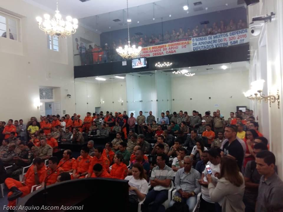 Assomal acompanha sessão da Assembleia Legislativa de Alagoas e constata que Emenda de Chico Tenório não entra na pauta do dia