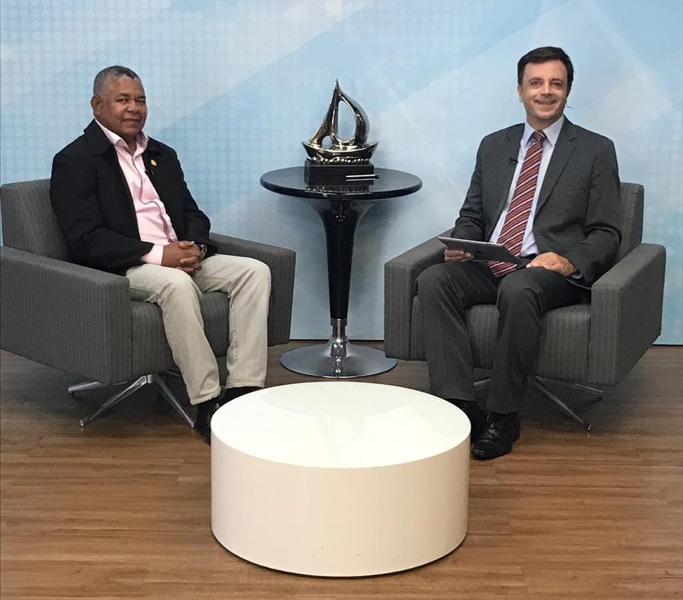 O presidente da Assomal, coronel J.Cláudio Nascimento esteve na manhã desta quinta-feira (13) no programa TV Mar News com o jornalista Mauro Wedekin.