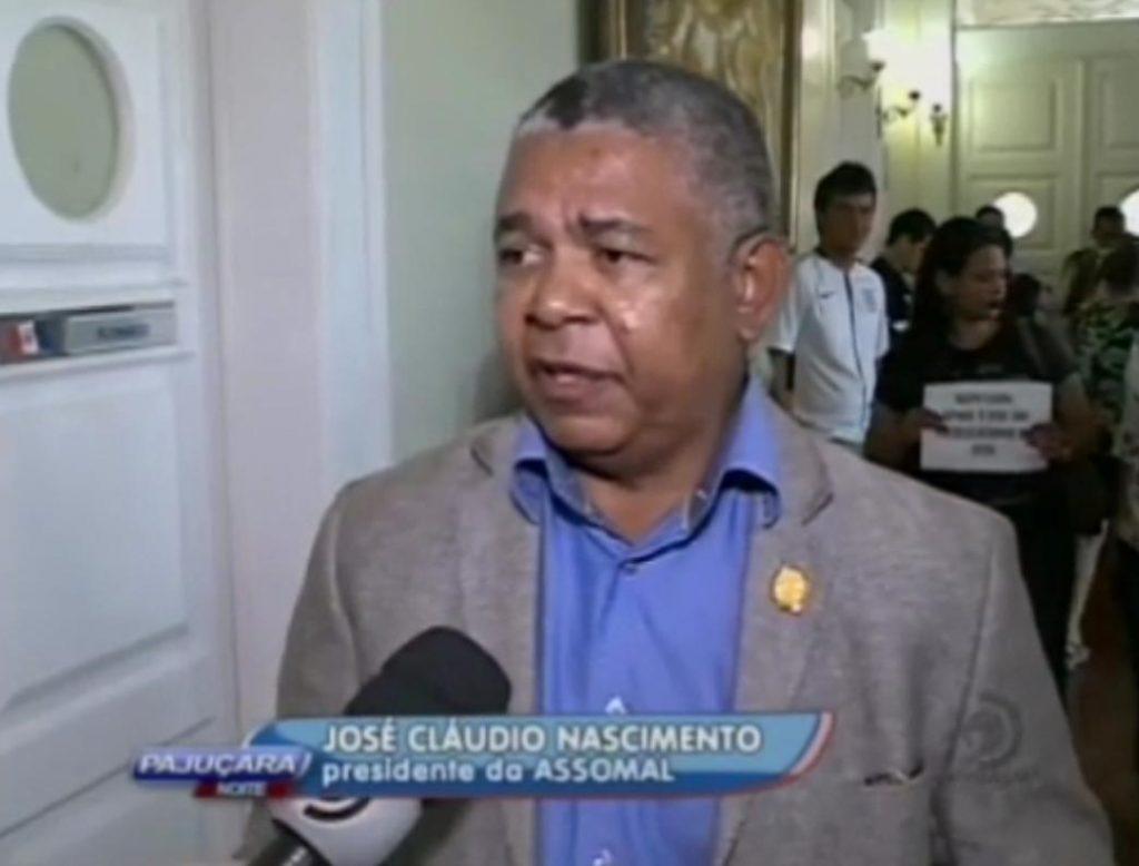 Entrevista - Votação da Emenda do Deputado Francisco Tenório, que altera o Estatuto da Polícia e do Corpo de Bombeiros Militares de Alagoas é adiada