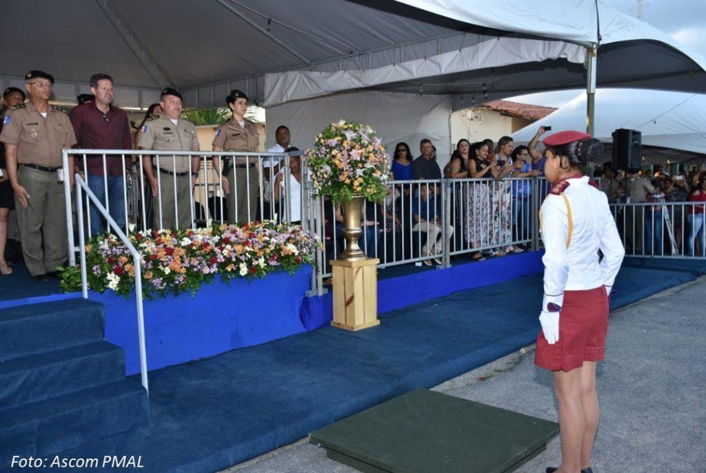 Assomal prestigia formatura dos alunos do Colégio da Polícia Militar Tiradentes