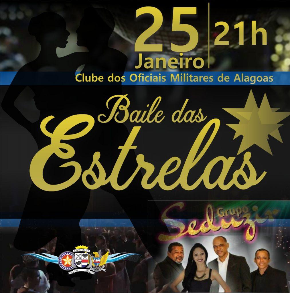 Baile das Estrelas é promovido pela Assomal na sexta-feira (25)