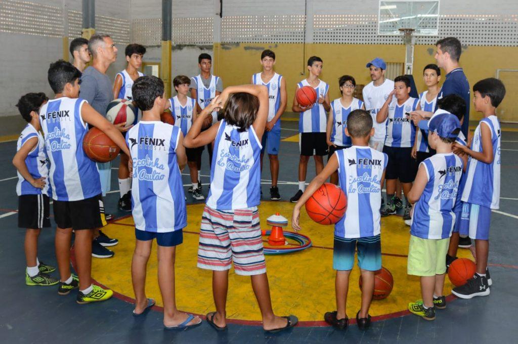 Criançada prestigia Colônia de Férias Esportiva do CSA na Assomal