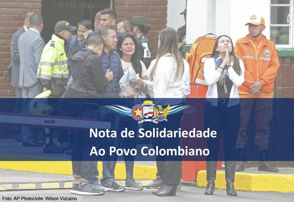 Nota de Solidariedade ao Povo Colombiano