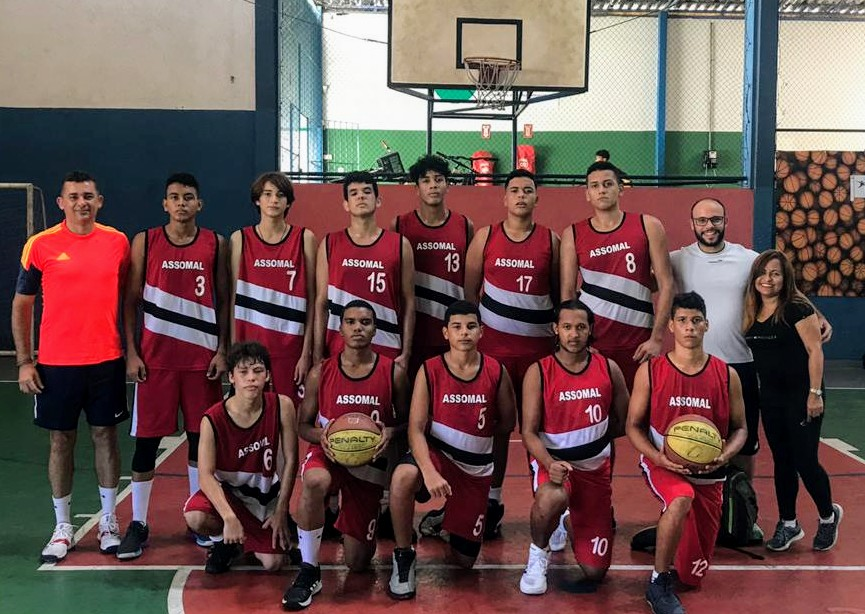 Em sua primeira competição, equipe da Assomal disputa o 3° lugar do Campeonato Alagoano Sub-17 de Basquete