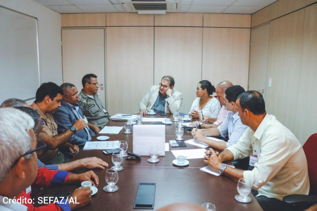 Movimento Unificado dos Militares de Alagoas tem reunião com George Santoro para acelerar demandas do acordo da categoria