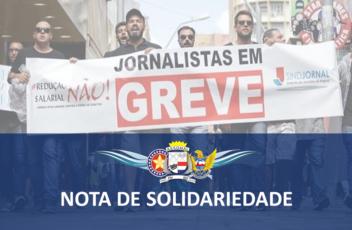 Jornalistas - nota de solidariedade
