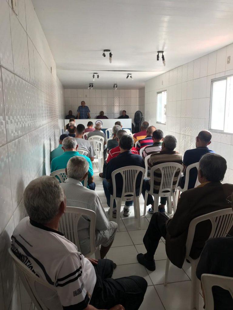 Assomal participa de café da manhã dos pais na associação dos Oficiais da reserva