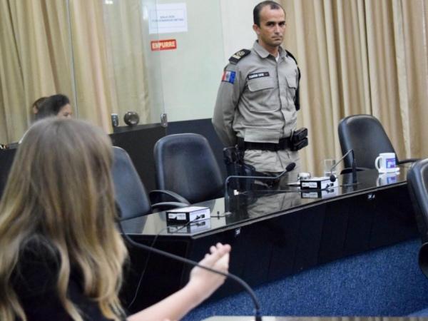 Assomal parabeniza cadete da PM por homenagem recebida na Assembleia Legislativa de Alagoas