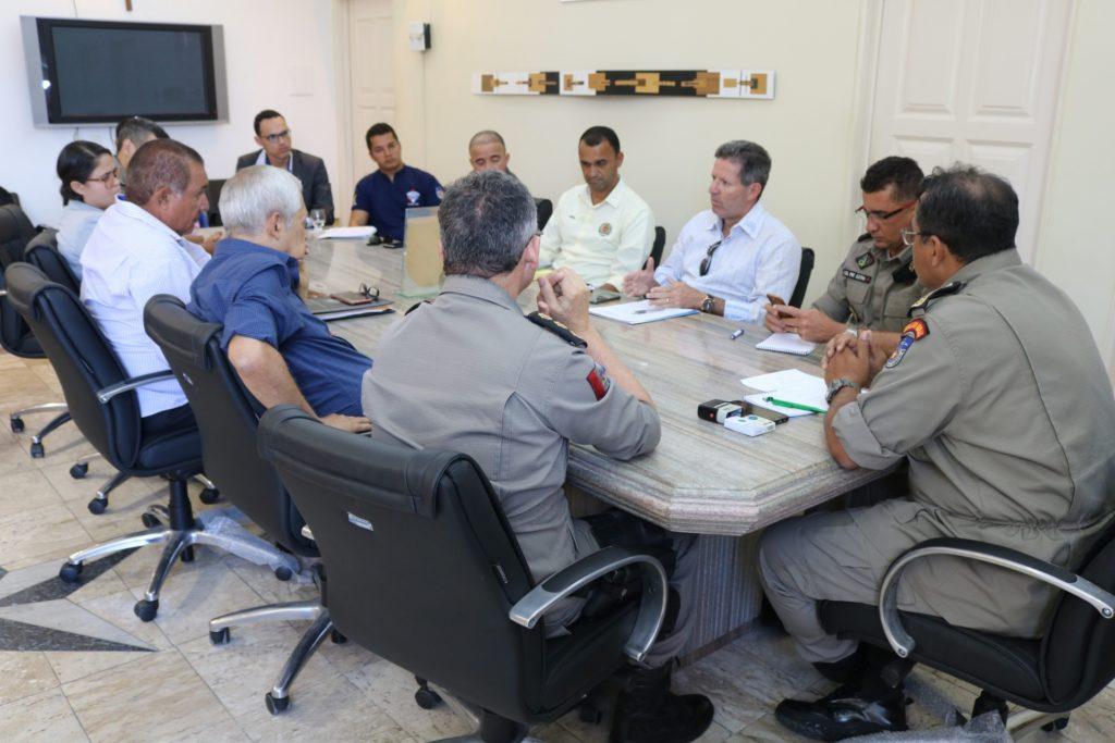 Assomal se reúne com Comando Geral da PM para efetivar a  nova alíquota dos militares estaduais