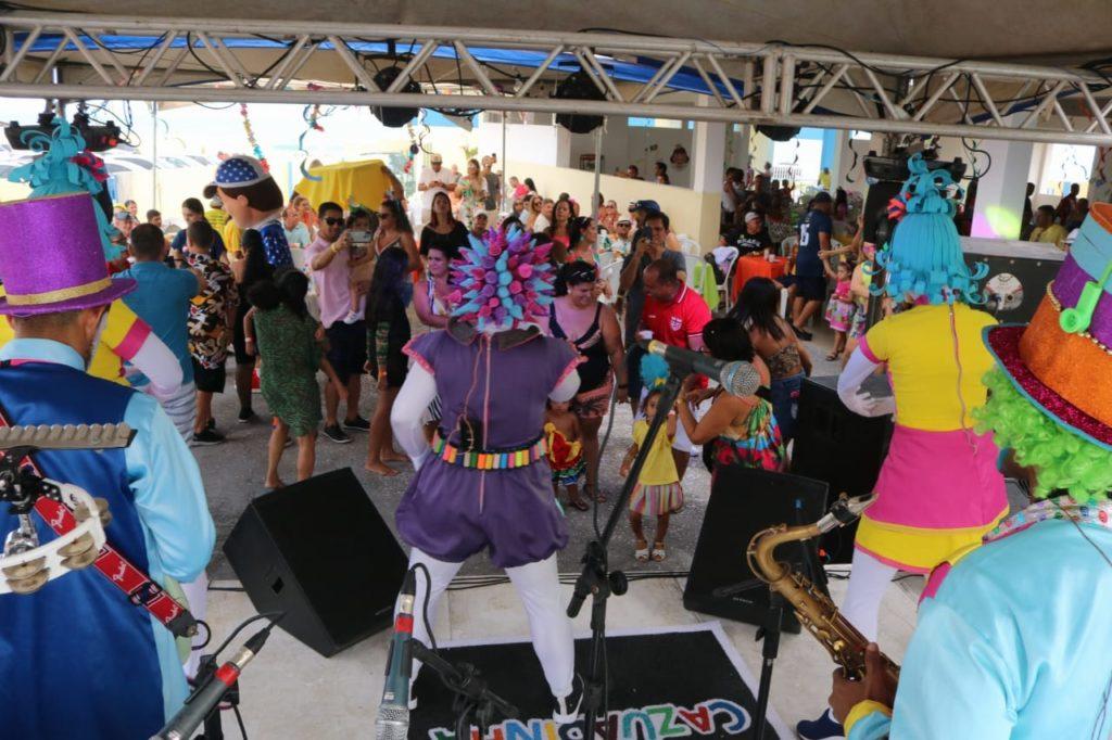 Famílias prestigiam a Primeira Ressaca de Carnaval da Assomal e revivem os dias de folia