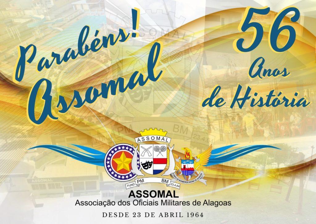 ASSOMAL comemora 56 anos de história na representatividade do oficialato da PMAL e CBMAL