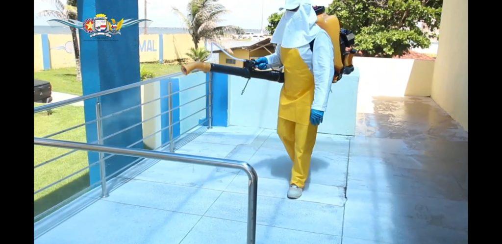 Assomal realiza desinfecção dos ambientes como prevenção ao Coronavírus